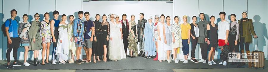 西園29為協助台灣紡織業者轉型升級,媒合新銳設計師設計能量,將紡織品發展系列服飾,創造市場消費需求以加值推動紡織產品競爭力。圖/業者提供