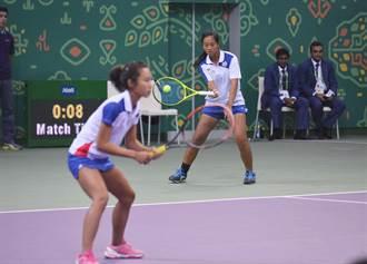 亞室運》不敵世大運銀牌 我網球女雙奪銅