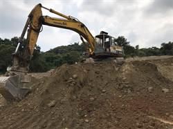八卦山又見挖禿山頭濫採土石 檢調要究責