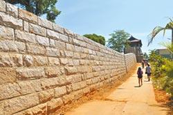 金門挖出古城牆 誤傳啦