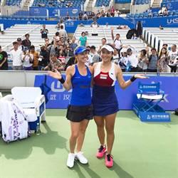 武漢女網賽 詹詠然、辛吉絲勝宿敵晉4