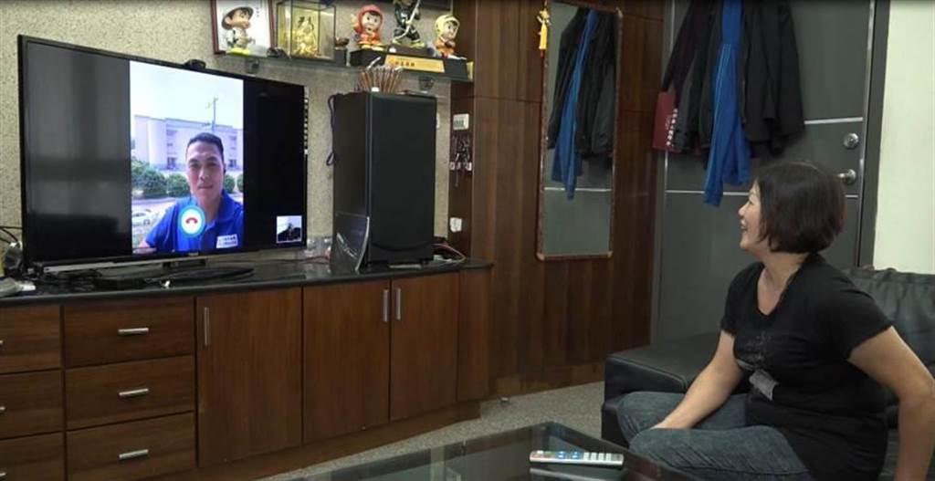 台數科與瑪帛科技合作,將透過數位有線電視及光纖寬頻上網,提供銀髮族長照新服務。(翻攝照片)