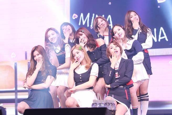 南韓人氣女團TWICE。(圖/達志影像)