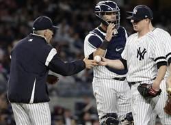 MLB》G.桑契斯淪捕逸王 洋基教頭季後賽照擺主戰