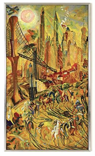 朱沅芷《工業之輪在紐約》 逾億港元拍出 刷新藝術家拍賣紀錄