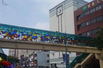 桃園市楊梅區3陸橋美化工程 2日啟用