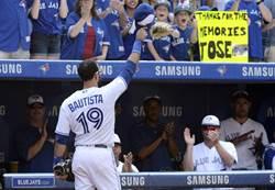 MLB》藍鳥花50萬給自由身 包提斯塔陷生涯危機