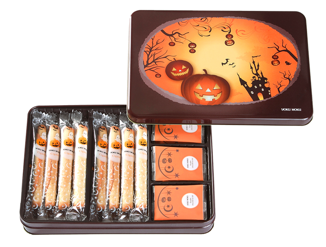 節慶限定款「萬聖節版綜合禮盒」(20入)。(圖片提供/YOKU MOKU)