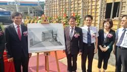 南台強震被震斜 京城銀行新化分行原址重建