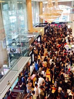忍太久!新光三越南西店消費滿百萬送i8 1小時送5台