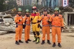 消防員模範 特搜分隊林育碩分隊長獲選行政院模範公務人員