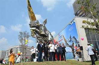 旺house》威尼斯雙年展台灣同步展 中悦30  金鋼犀牛雕塑展