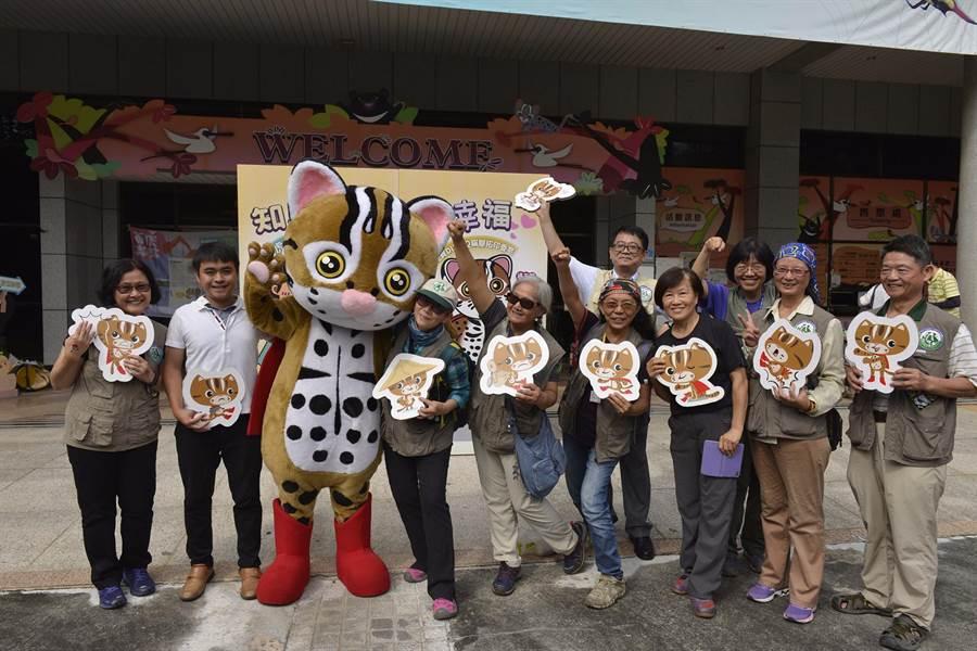 特生中心石虎周5日開幕,邀請集集鎮公所與在地社區觀光旅遊及友善農業人員共同參與。(特生中心提供)