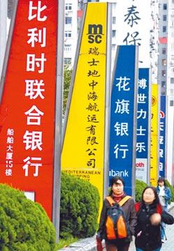 外資銀行在華資產 8成置於上海