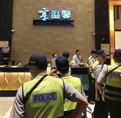 淨化國慶慶典期前社會治安 台中市強力臨檢掃蕩勤務