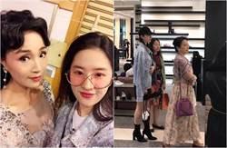 劉亦菲自稱全家最醜 小姨照曝光網友信了