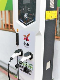 台南推綠能 啟用通用充電樁