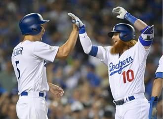 MLB》賈斯丁騰納平隊史5打點 道奇痛宰蛇軍