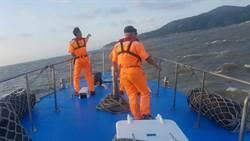陸船南竿外海沉沒 馬祖海巡緊急救援