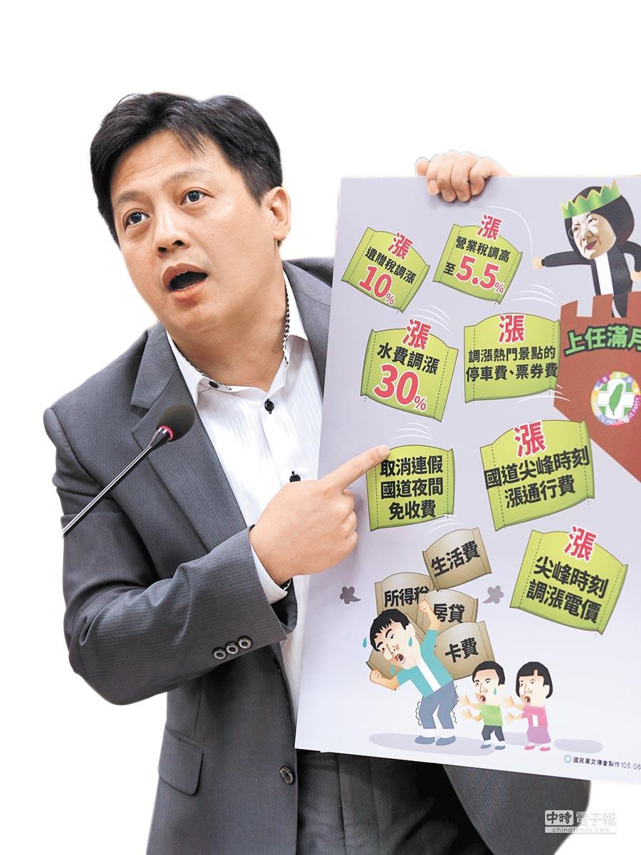 國民黨文傳會主委李明賢,將出馬參選北市議員。(本報資料照片)