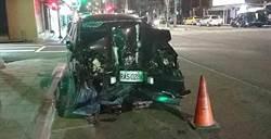 北市轎車自撞橋墩  車內襁褓男嬰受創到院前無生命跡象