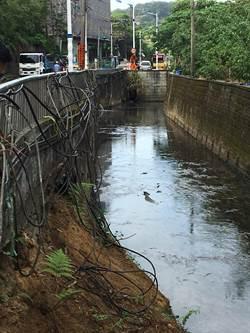 深澳坑溪排水不良 議員促納入田寮河清淤計畫改善