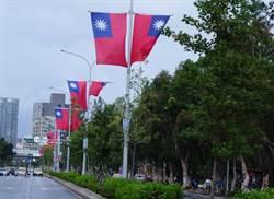 國慶日撕國旗 潑漆妹妨害秩序起訴