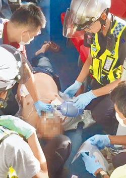心跳停止18分 路人CPR搶回
