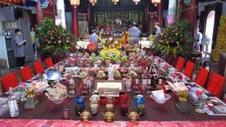 二林仁和宮設宴款待眾媽祖
