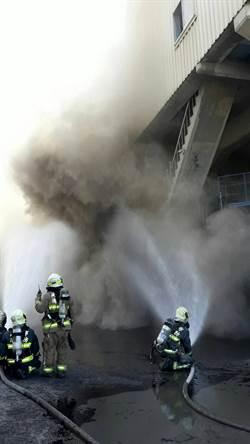 高市國產實業水泥粉塵飛揚 一度誤為火警