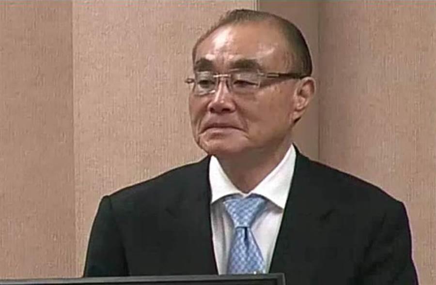 國防部長馮世寬在立院備詢。(呂昭隆攝)
