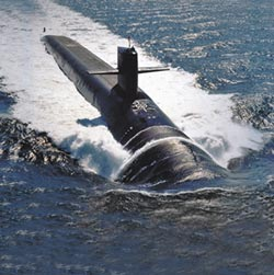 美2核潛艦 前進朝鮮半島