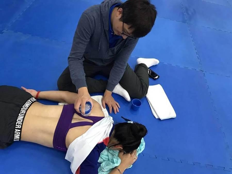 恢復正常訓練的郭婞淳,備戰宜蘭全雲會與美國世錦賽。(摘自郭婞淳臉書)