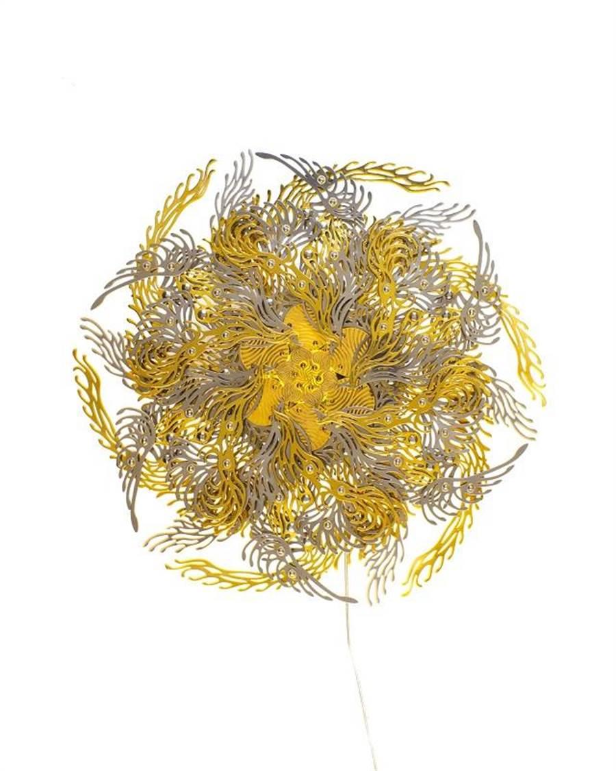 《金色脈輪》崔旴嵐╱形而上畫廊。