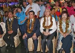 藍北市黨部主委選舉 馬、郝為黃呂錦茹站台
