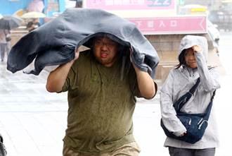 強勁雨勢席捲 台東紅葉村明停班停課