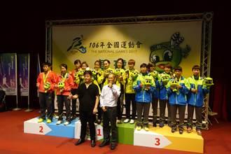全運會》陳思羽領銜 新北桌球女團3連霸