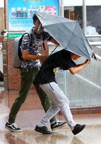 卡努颱風牛步慢行 宜花東續防豪大雨