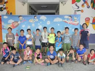 中市培養孩子運動習慣 軟式網球假日育樂營開跑