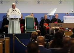 教宗促各國合作抗糧食危機