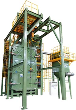 大鎪吊車式噴砂機 4大特點降低成本