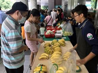 醫產官學首度跨界合作 高雄長庚穠鮮市集推展在地優質農產品