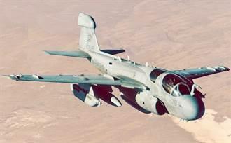 波灣經典電偵機EA-6B 退役前最後訓練任務