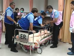 醫療暴力防治 台南市醫警聯合演練