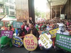 桃園、新竹遠東百貨今日宣示開打周年慶