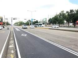 台灣大道優化公車專用道路平10月完工