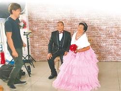 歡慶重陽 7對老夫婦拍婚紗