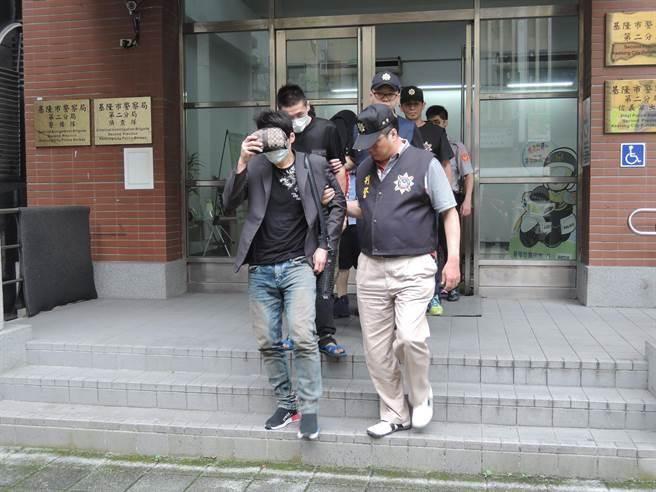 「財神企業公司」首腦陳嫌因涉嫌暴力討債,遭警方移送法辦。(張穎齊攝)
