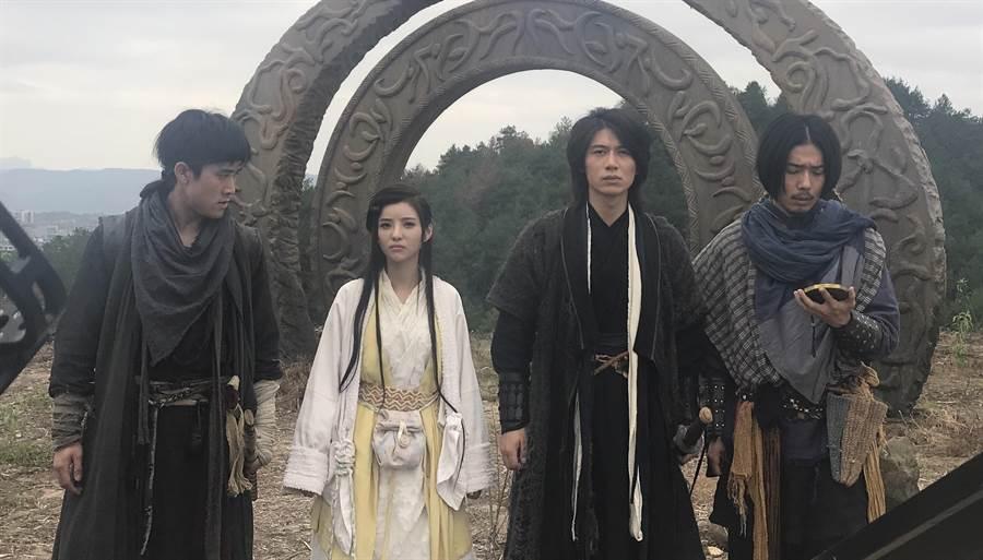 安于晴演出網路大電影《鬼拳3》。(經紀公司提供)