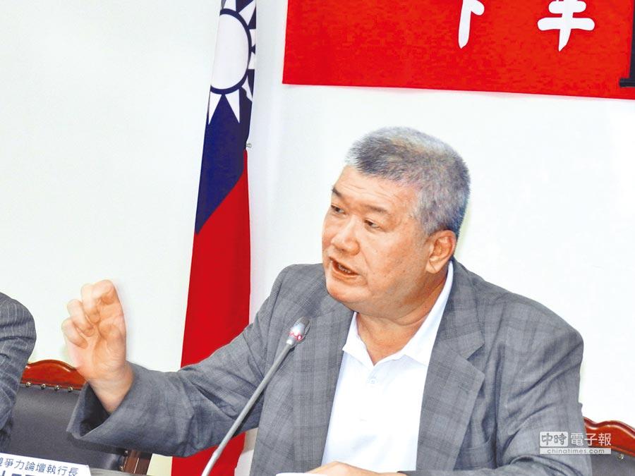 台灣競爭力論壇執行長謝明輝。(記者林永富攝)